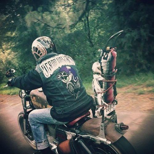 Scrapdealers Road Motorcycle Ftf Ftw Rusty Sarape RolandSands Helmet Oldschool Ajusco