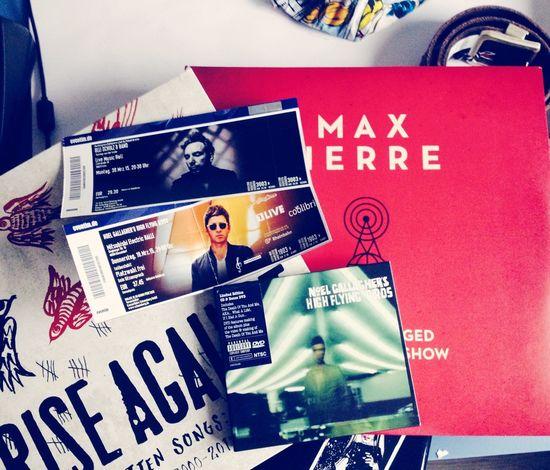 Music Konzert Noel Gallagher's High Flying Birds Olli Schulz Rise Against Max Herre Vinyl Christmas Musik gesaved!