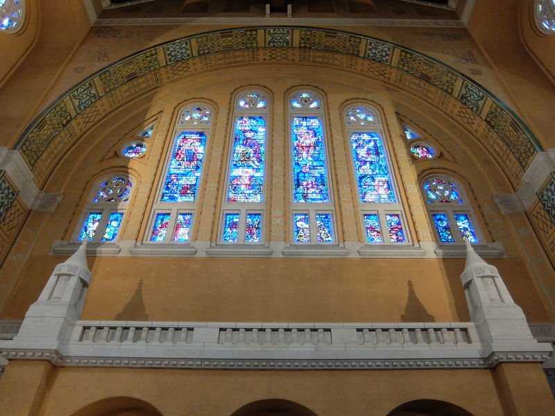 Architecture Indoors  Place Of Worship Religion Spirituality Stained Glass Window