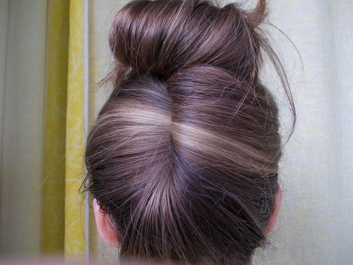 Malen mit Haaren Hair Hairstyle Haare Frisur Frisur Sitzt Beauty