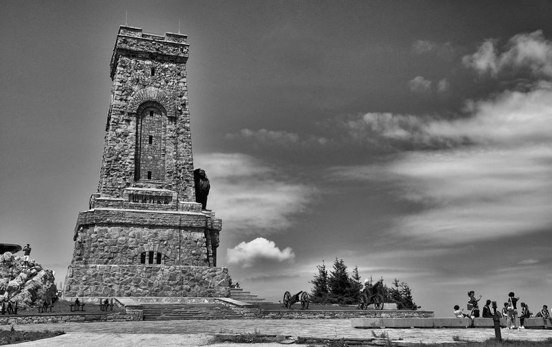 Ancient Architecture Blackandwhite Built Structure Bulgaria Capital Cities  Cloud - Sky Clouds Cloudy Famous Place History Horizon International Landmark Landscape Low Angle View Mountains Old Place Of Worship Religion Rural Scene Sky Spirituality Original Experiences Tourism Fine Art Photography