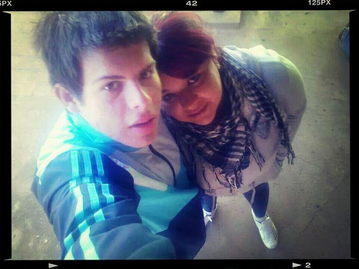 Con La Mejor Primaa :) First Eyeem Photo