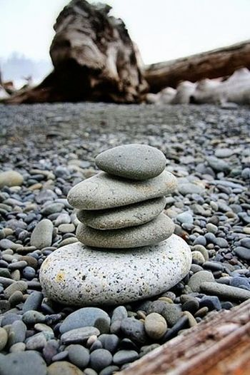 Rialto Beach cairns... PNW Pnwcoast Rialtobeach Cairns