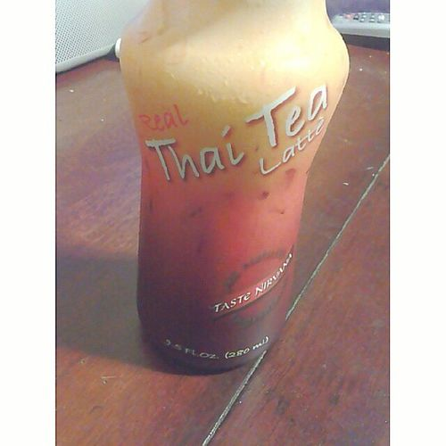 Makes me miss my second home. But of course home made is better.♡ @ay0itscindyy Thaitea