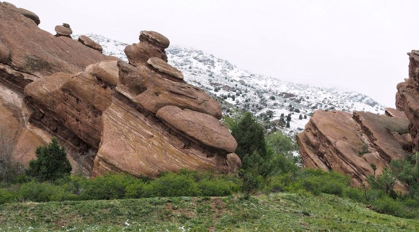 Nature Outdoors Sky Super Getting Inspired Exploring Hiking Snow Landscape Nature Rock Formation Beauty In Nature Adventure Rocky Mountains