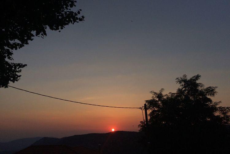 Sunset Sky Nature Greece First Eyeem Photo