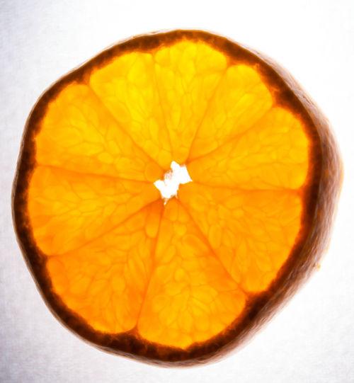 Close-up view of pumpkin