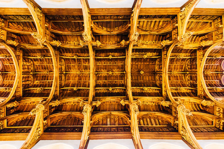 Architecture Arrangement Ceiling Close-up Day Details In A Row Indoors  Large Group Of Objects No People Sky