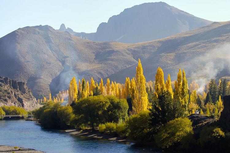 Patagonia - Argentina Argentina Landscape Mountain Nature Patagonia Poplar River