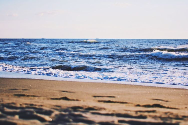 Summer Waves - Seascape Summer Vscocam Waves