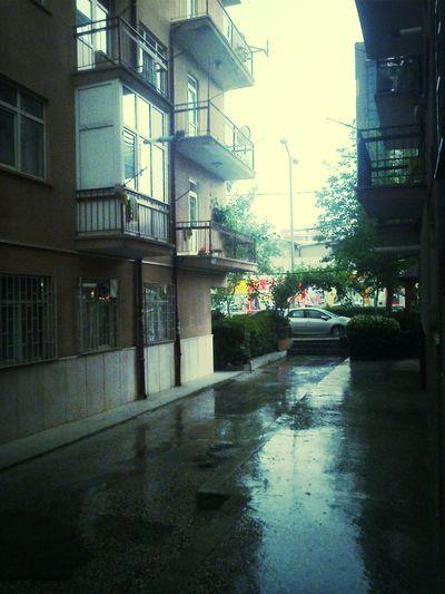 Ankara Tower Rain