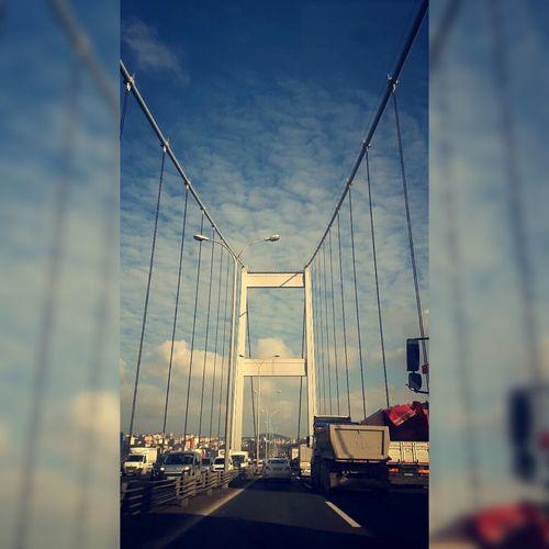 Ne güzel bir köprüsün sen öyle bir sürü iz taşıyan ... Happy