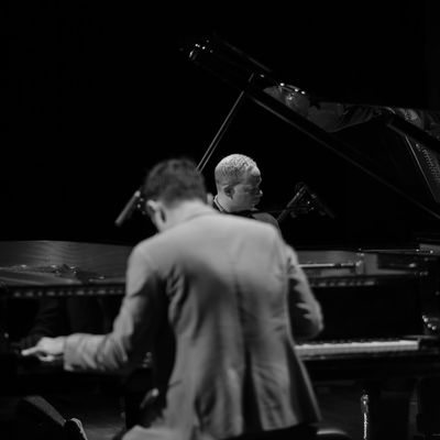 VIJAY IYER & CRAIG TABORN Two innovative New York pianists, contemporaries, friends and, on top of that, both at the forefront of adventurous contemporary music, will perform as a duo. It is a rare occasion that these two pianists perform as a twosome. Both are being praised for their imaginative playing and their qualities as solo pianists and band leaders of many ensembles, which often include prominent jazz and improv players from New York. This unique excursion from their busy schedules could be described as not just a duo, but a challenging dialogue between two innovative spirits who are open to jazz history as well as new developments in the fields of hip-hop, electronica and the classical spectrum. Vijay Iyer does not see himself as a typical virtuoso, but still he's an important example for the current generation of jazz pianists because of his originality and unique timing. Thelonious Monk is a source of inspiration, but his music can also refer to Michael Jackson, M.I.A. or techno pioneer Robert Hood. His comrade Craig Taborn is being hailed as a 'visionary of the current wave' (Downbeat) because of his intriguing style of playing in which he explores the tones and overtones of the piano in their smallest details. 'A piano spectacle that meandered between expressionism and impressionism' (Enola.be on Vijay Iyer & Craig Taborn). 'They showed an amazing level of communication as they ran through one adventurous number after another. They kept the crowd guessing throughout the set list, motoring through a variety of tunes that spanned the gamut of modern jazz styles. The two players volleyed short leads countless times, delivering the musical equivalent of a tennis match' (JazzTimes). Bimhuis, Amsterdam, March 9, 2018 Amsterdam Improvisation Jazz Music Piano Concert Live Performance