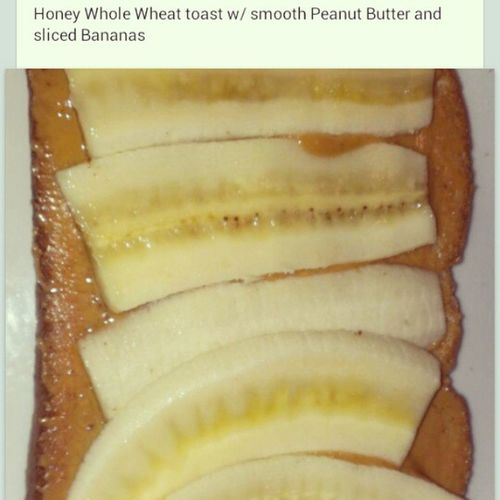 Snack time!!! Peanutbutter Bananas Wholewheattoast Yummy healthy latenighthunger