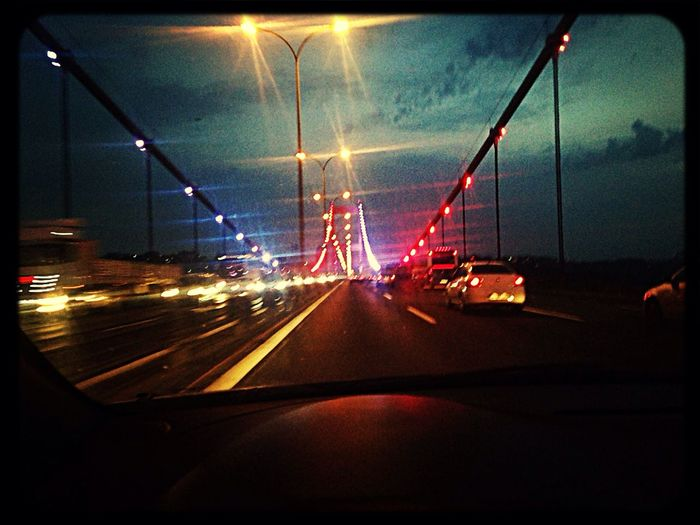 Night Istanbul - Bosphorus Photooftheday Iphoneonly