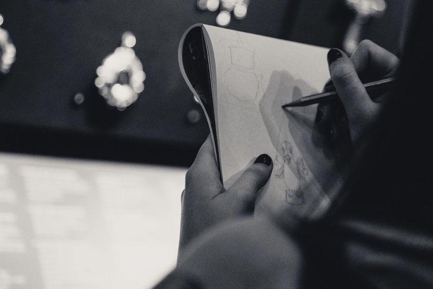 Blackandwhite Studying Designing London