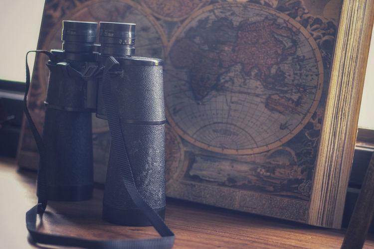 Close-up of black tea on table
