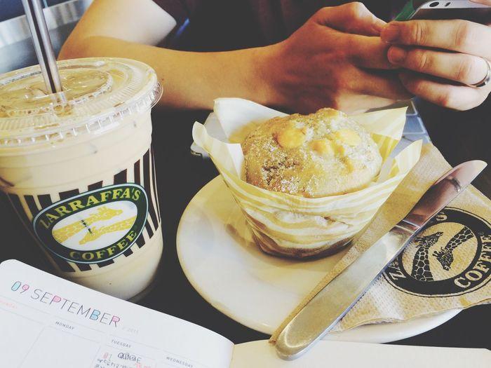 Coffeetime LoveThisMoment Muffins Zarraffa's Coffe Cairns September Diary