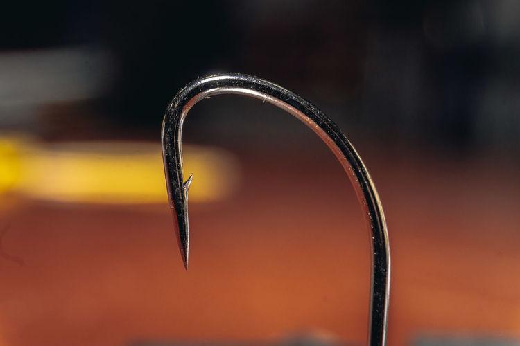 Close-up of spiral metal