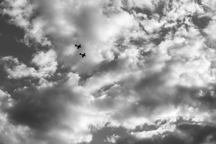 Blackandwhite Black And White Black&white Black & White Black And White Photography Airplane Clouds Skyporn Sky
