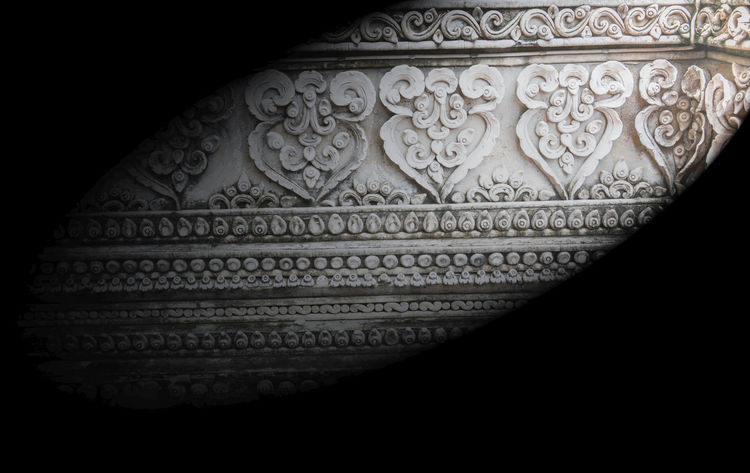 Chiang Mai | Thailand Lanna Architecture Travel Architecture Art And Craft Built Structure Close-up Day Design Indoors  Light And Shadow Line Thai No People Pattern Sculpture
