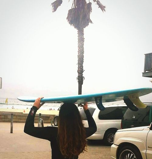 Faces Of Summer Surfboard Surfer Girl Mission Beach Hazy Days