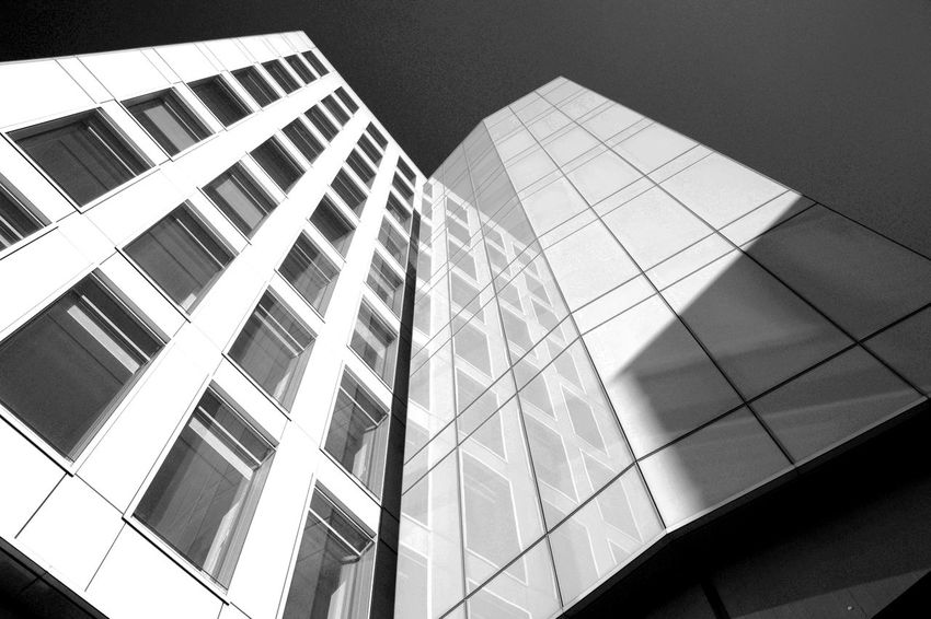 Architecture Building Building Exterior Built Structure City Day Geometric Shape Glass Glass - Material Low Angle View Modern Nature No People Office Office Building Exterior Outdoors Reflection Sky Skyscraper Tall - High Window
