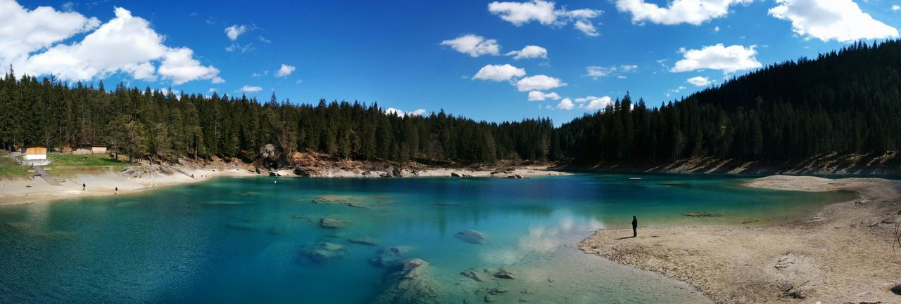 Caumasee Switzerlandpictures Alpinlake Lanscape Photography Landscapes Gettyimages Getty X EyeEm Getty Museum Mountain View