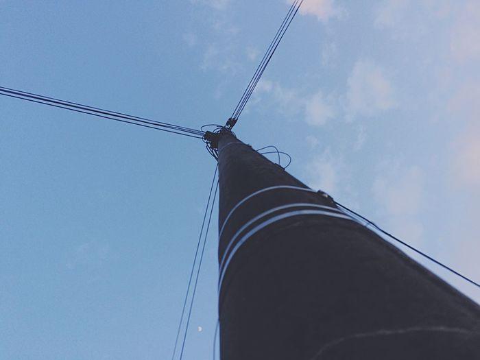 Pivotal Ideas Cable Electricity Pole