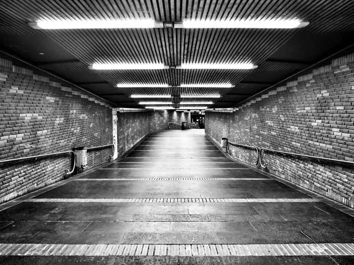 Black And White Tunnel Vision Empty Places Notes From The Underground in Bonn