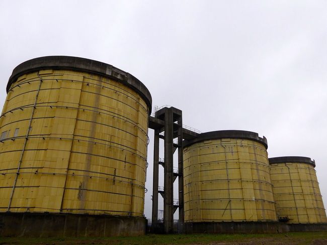 Geometric Shapes Yellow Silos Old Buildings Zeeburg Amsterdam Oost Amsterdam Check This Out