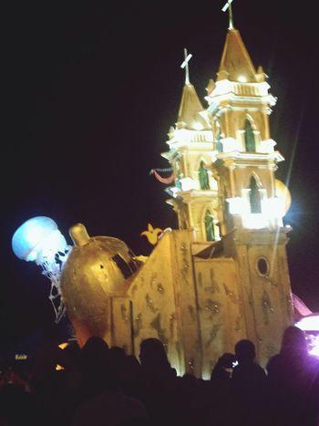 Colors Of Carnival Jellyfish Night Photography Carnival Mazatlan 2016 Sunday Night