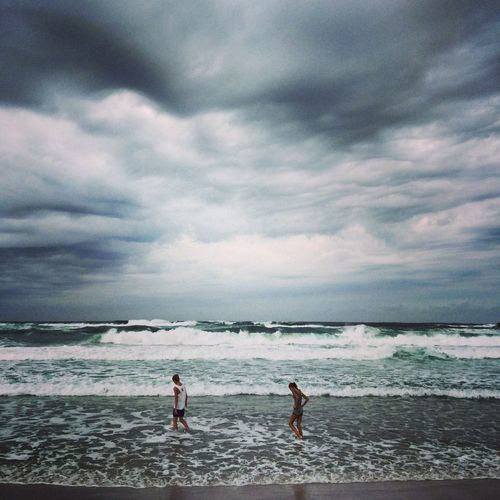 Totally Worth It Storm Ocean Swimming