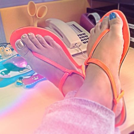Washday Friday.... This Sandals will save me from harm.. Chill Orange Golddotshop Golddotshoes friday igers fashion