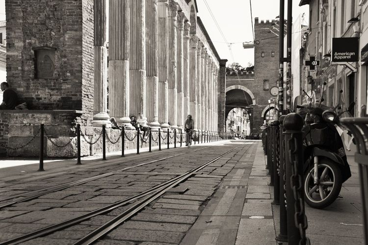 I Love My City Milano Colonne Di San Lorenzo Old Rail