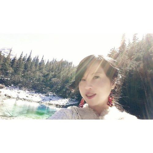 20140316 Jiuzhaigou ColourfulLake China SelfCaptured