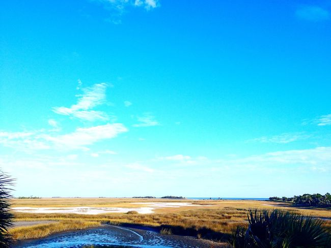 Blue Outdoors Day Landscape Beauty In Nature Scenics Sky Sunny Cloud - Sky Nature No People