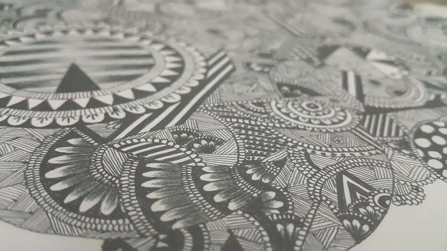 Made By Me doodling Mandala Zentangle Arts Artistic ArtWork Art, Drawing, Creativity Lovedrawing