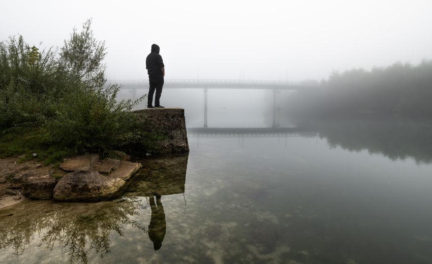 Water Fog Lake