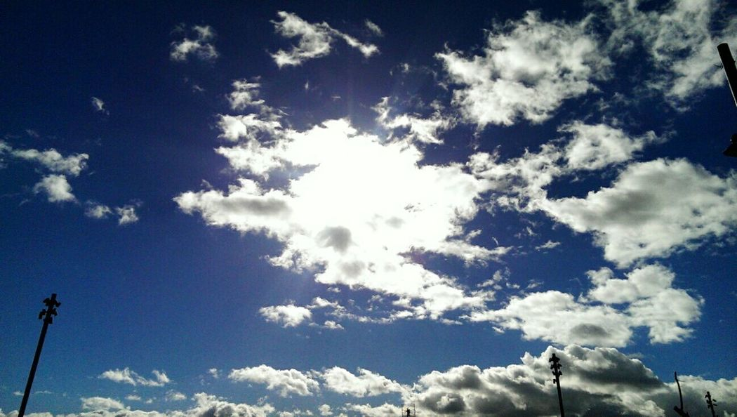Sky of Zaragoza Sky And Clouds Sky Blue Sky Clouds Nature Nature_collection EyeEm Nature Lover Clouds And Sky Sky Collection Nature_collection