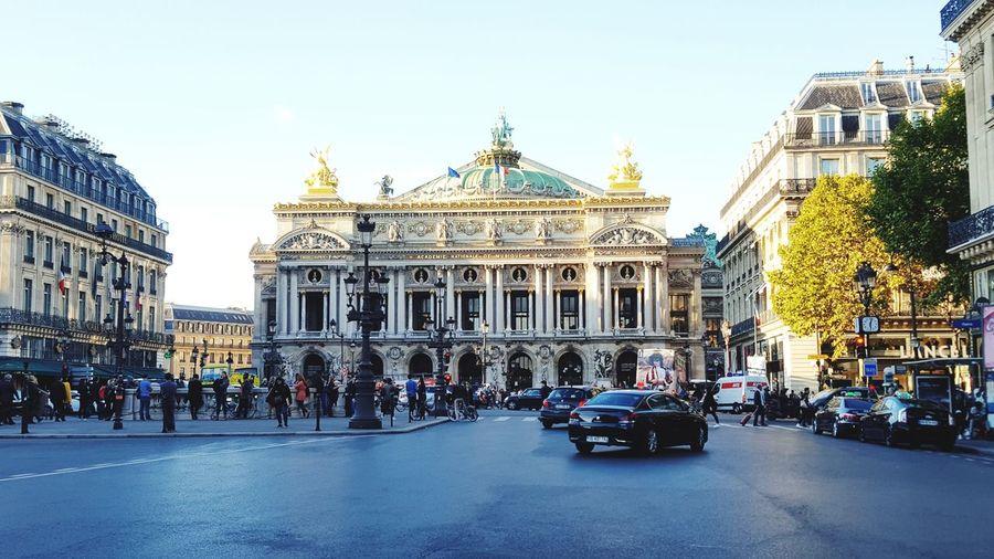 Place De L'opéra Architecture City Life Outdoors Building Exterior Sky Day