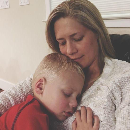 Capture The Moment Mom Son Sleeping Blonde Preschooler Scotts Valley California United States Childhood Motherhood Motherandson  Peace Nomakeup Night Night, Sleep Tight