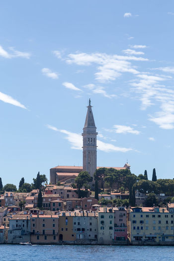 Rovinj... Croatia Holiday Old Town Rovinj Rovinj Croatia Rovinj City Rovinj, Croatia Travel Traveling Vacations Architecture Building Building Exterior Built Structure City Croatian City Croatian Town Spire  Summer Tower Travel Destinations Vacation Visit Croatia Water Waterfront