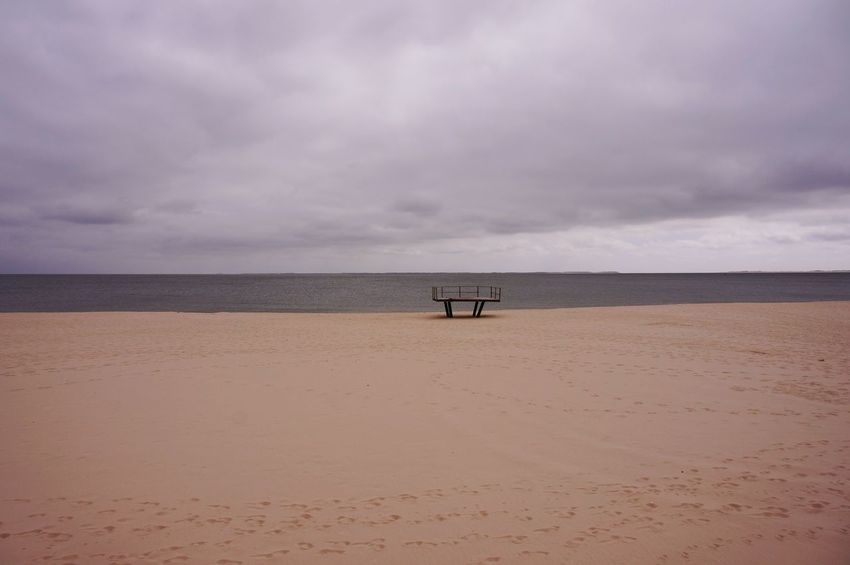 Bleak Outlook Beach Sea Horizon Over Water Sand Nature Water Outdoors Sky Cloud - Sky Scenics No People Day Silhouette Landscape Nature Beach Photography Clouds Bleak Is Beautiful Outlooktower Sylt Strand