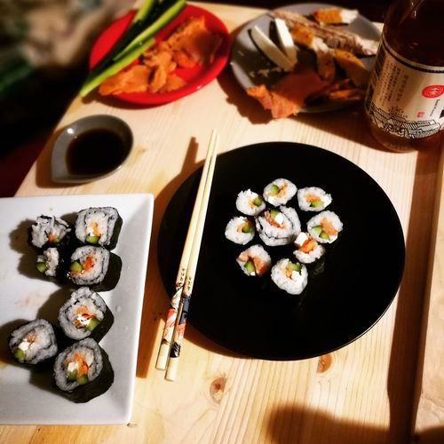 Sushitime Sushilover Homemadesushi Sushi Chef Lovecooking Cooking At Home Chopsticks★★★