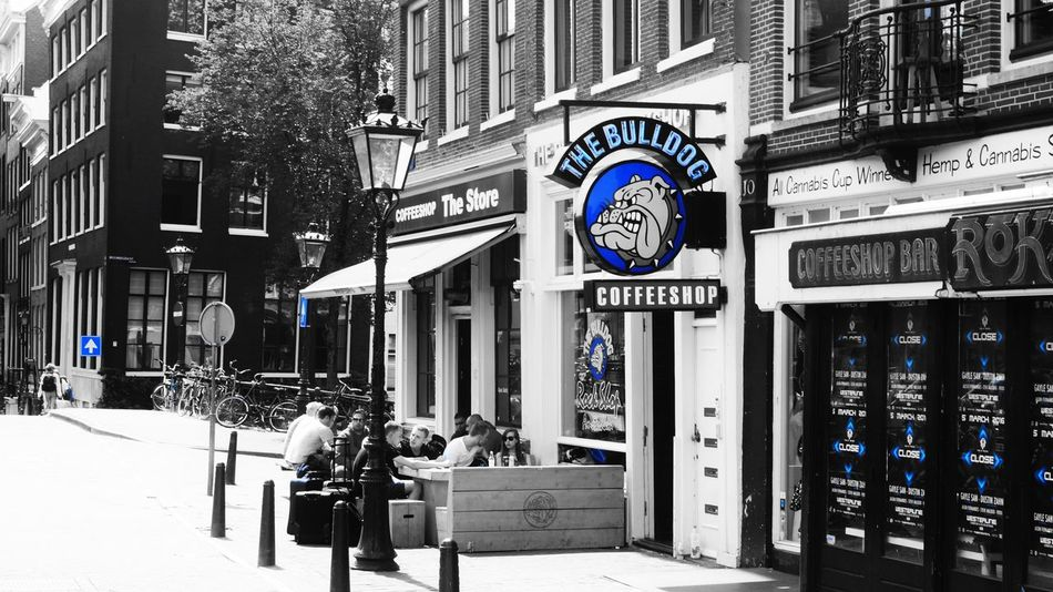 Amsterdam Hanging Out Hello World The Bulldog Coffeshop Taking Photos Enjoying Life Smoke Coffee Shop Traveling Streetphotography