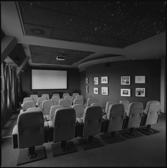 Film Industry Projection Screen