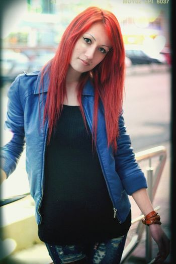 Red Hair Red Hi! That's Me 2013 Girl Hairstyle