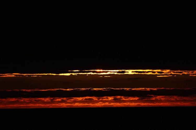 Beauty In Nature Cloud - Sky Idyllic Nature No People Scenics - Nature Sky Sundown