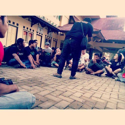 Kumpul Bareng TEPO's di depan GOR Trisanja Tegal_photographers Slawi Infotegal Tegal